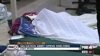 Salvation opens shelter - Video
