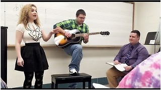 Music Teacher Starts Singing Pop Song, Then The Entire Class Does Something Incredible - Video