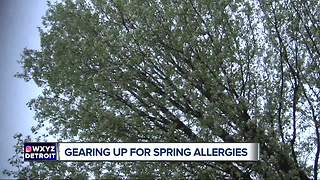Gearing up for  spring allergies - Video