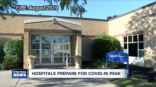Hospitals brace for COVID-19 peak