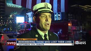 Firefighters remember September 11th
