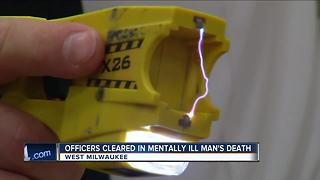 West Milwaukee police officers cleared in mentally ill man's death - Video