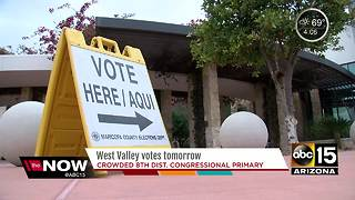 West Valley votes Tuesday in special primary election - Video