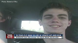 Teen killed in Venice hit-and-run crash, FHP investigating - Video