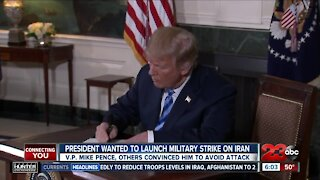 President Trump wanted to launch military strike on Iraon