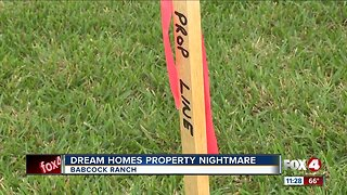Homeowners say builders misled them about property