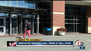 Ball State opens new resident hall, tears down another - Video