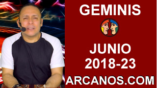 HOROSCOPO GEMINIS-Semana 2018-23-Del 3 al 9 de junio de 2018-ARCANOS.COM - Video