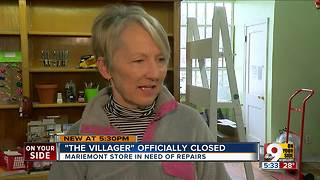 The Villager, landmark store in Mariemont for 69 years, closes its doors - Video