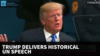 Trump Delivers Historic UN Speech - Video