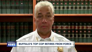 Derenda made 'non-conventional' retirement announcement Tuesday - Video