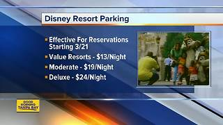 Walt Disney World to charge resort guests for overnight parking beginning March 21 - Video