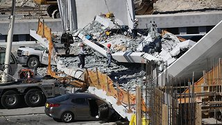 An Engineer Noted Cracking In FIU Bridge Days Before It Collapsed - Video