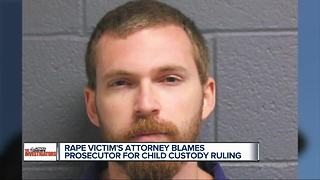 Attorney for rape victim speaks after rapist gets joint custody of child - Video