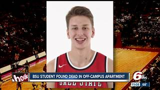 Ball State basketball player, 19, found dead in off-campus apartment - Video