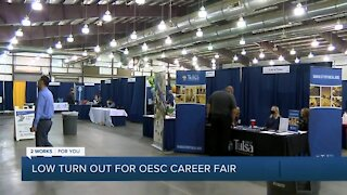 Low turn out for OESC career fair