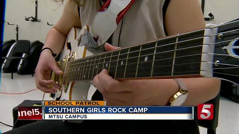 School Patrol: Southern Girls Rock Camp