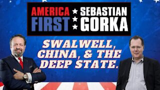 Swalwell, China, and the Deep State. David Goldman with Sebastian Gorka on AMERICA First