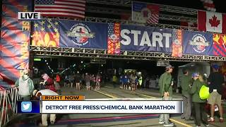 Detroit Free Press Marathon - Video