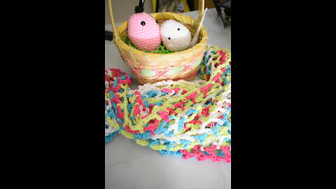 Eggu the Easter Egg Amugurumi Pattern by Infiniti Crafting Co.
