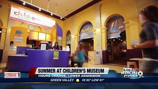 Children's Museum kicks off summer with special deal - Video