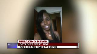 2 Killed at Bonfire Party in Detroit - Video