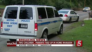 Kids, Parents Tied Up During Nashville Home Invasion