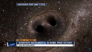 UWM team contributes to Nobel Prize win - Video