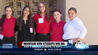 Mountain View students succeed at leadership conference