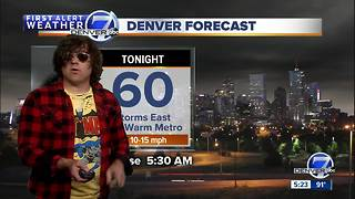 Watch: Musician Ryan Adams moonlights as Denver7 weatherman ahead of Red Rocks showDenver7 had a very special guest weatherman in the house Wednesday, as musician Ryan Adams joined the team to give Colorado its weather forecast for the week! - Video