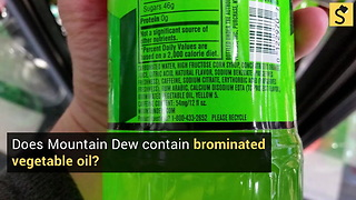 Does Mountain Dew Contain the Dangerous Chemical BVO?