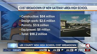 New Lee County high school will cost almost $100 million