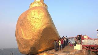 Golden Rock, Myanmar - Video