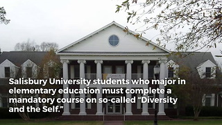 "University Forcing Students To Learn ""Pyramid Of White Supremacy"" - Video"