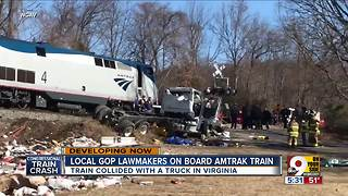 Rep. Brad Wenstrup talks to WCPO about aiding train crash victims - Video