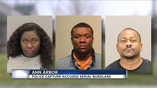 Police capture accused serial burglars - Video