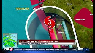 Florida Power and Light say millions could lose power due to Hurricane Irma - Video