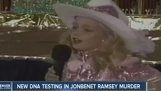New DNA testing in JonBenet Ramsey