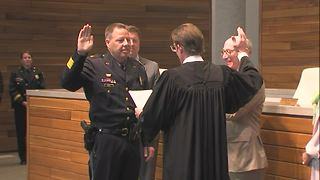 New KCPD Chief of Police Rick Smith sworn in - Video