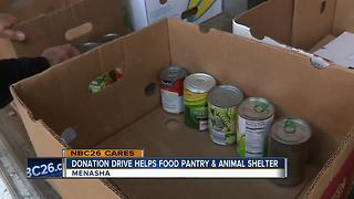 NBC26 and Festival Foods donation drive benefits people and pets in the community - Video