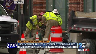 The tricky way a BGE scammer duped a local business owner