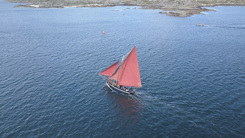 Drone Footage Captures Spectacle Of Irish Boating Event In Galway