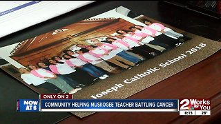 Community helping Muskogee teacher battling cancer