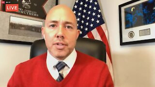 U.S. Rep. Brian Mast talks about breach of U.S. Capitol