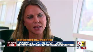 Lara Logan: Journalist on the front lines - Video