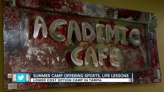 The Skills Center, a non-profit, providing low-cost summer camp opportunities for local kids - Video