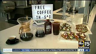 Smell that? That's the smell of free coffee - Video