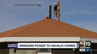 SRP helps bring power to 500 homes on the Navajo Nation