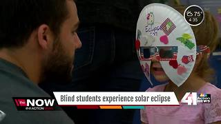NASA creates Braille eclipse book - Video