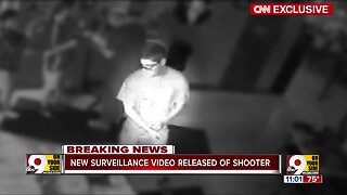 Surveillance video released of Dayton shooter